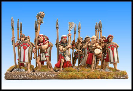Crocodile Miniatures Asar Spearmen Unit